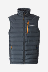 Mens Ski Vests: Men's Downlight StormDown Vest