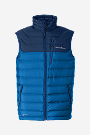 Polyester Vests for Men: Men's Downlight StormDown Vest