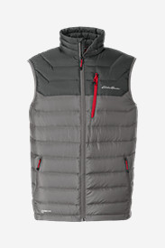 Gray Vests for Men: Men's Downlight StormDown Vest