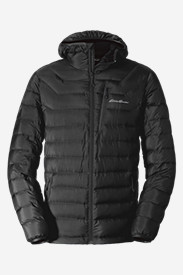 Jackets for Men: Men's Downlight StormDown Hooded Jacket