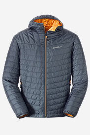 Blue Jackets: Men's IgniteLite Reversible Hooded Jacket