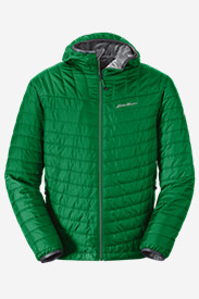 Quilted Jackets for Men: Men's IgniteLite Reversible Hooded Jacket