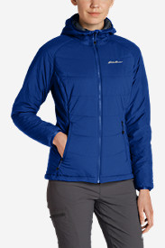 Insulated Jackets for Women: Women's IgniteLite Flux Hooded Jacket