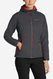 Insulated Jackets: Women's IgniteLite Flux Hooded Jacket