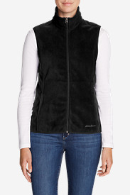 Black Vests: Women's Quest 200 Fleece Vest