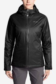 Women's Cloud Cap Insulated Rain Jacket