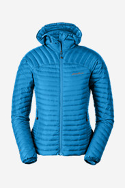 Blue Jackets: Women's MicroTherm StormDown Hooded Jacket