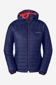 Blue Jackets: Women's IgniteLite Reversible Hooded Jacket