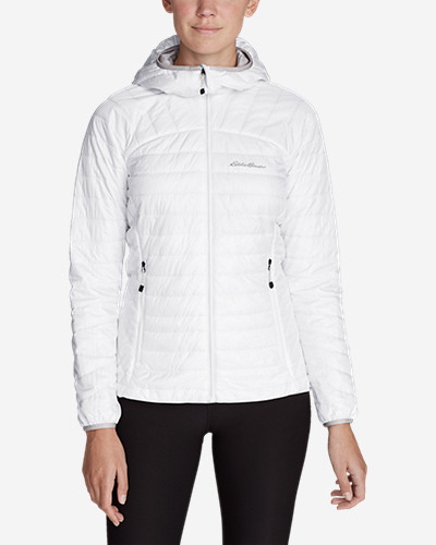 White Jackets for Women: Women's IgniteLite Reversible Hooded Jacket