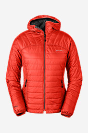Red Jackets: Women's IgniteLite Reversible Hooded Jacket