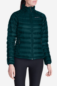 Blue Petite Outerwear for Women: Women's Downlight StormDown Jacket