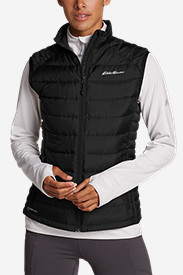 Black Vests: Women's Downlight StormDown Vest