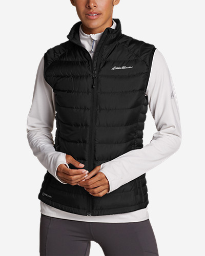 Snow Vests: Women's Downlight StormDown Vest