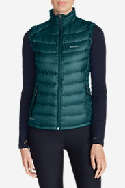 Blue Petite Outerwear for Women: Women's Downlight StormDown Vest