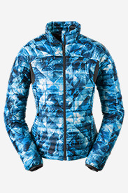 Blue Petite Outerwear for Women: Women's MicroTherm StormDown Jacket