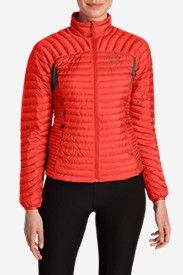 Red Jackets: Women's MicroTherm StormDown Jacket