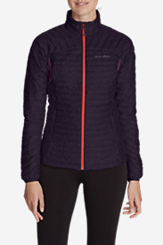 Purple Jackets: Women's MicroTherm StormDown Jacket