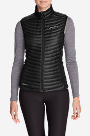 Black Vests: Women's MicroTherm StormDown Vest