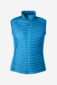 Blue Plus Size Vests for Women: Women's MicroTherm StormDown Vest
