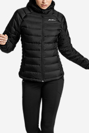 Water Resistant Jackets: Women's Downlight StormDown Hooded Jacket