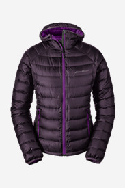 Purple Jackets: Women's Downlight StormDown Hooded Jacket