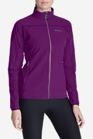 Purple Jackets: Women's Sandstone Soft Shell Jacket