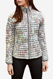 Insulated Jackets for Women: Women's MicroTherm StormDown Jacket - Print