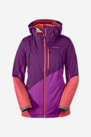 Water Resistant Jackets: Women's Telemetry Freeride Jacket