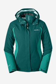 Green Petite Outerwear for Women: Women's Powder Search Insulated Jacket