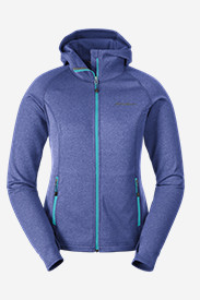 Jackets: Women's High Route Fleece Hoodie