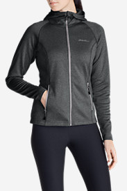 Hiking Jackets: Women's High Route Fleece Hoodie