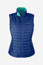 Blue Petite Outerwear for Women: Women's IgniteLite Reversible Vest