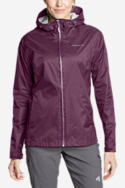 Tall Jackets: Women's Cloud Cap Lightweight Rain Jacket