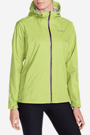 Yellow Petite Outerwear for Women: Women's Cloud Cap Lightweight Rain Jacket