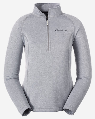 Gray Plus Size Pullovers for Women: Women's High Route Fleece Pullover
