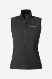 Black Vests: Women's Sandstone Soft Shell Vest