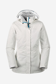 Water Resistant Jackets: Women's All-Mountain Insulated Long Jacket