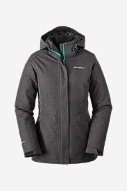 Black Jackets: Women's All-Mountain Insulated Long Jacket