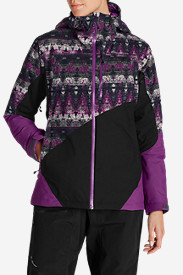 Purple Jackets: Women's Telemetry Freeride Insulated Jacket