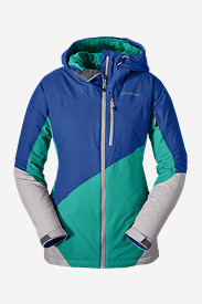 Insulated Jackets for Women: Women's Telemetry Freeride Insulated Jacket
