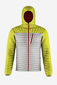 Men's Custom Microtherm Hooded Jacket