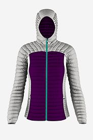 Women's Custom Microtherm Hooded Jacket