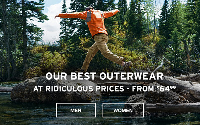 Our Best Outerwear At Ridiculous Prices