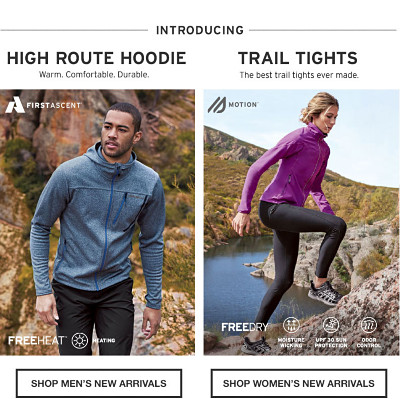 Introducing High Route Hoodie and Trail Tights