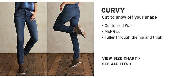 3894cb87b9a Women s Curvy Fit Jeans