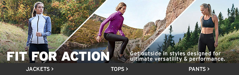 Get outside in styles designed for ultimate versatility & performance.