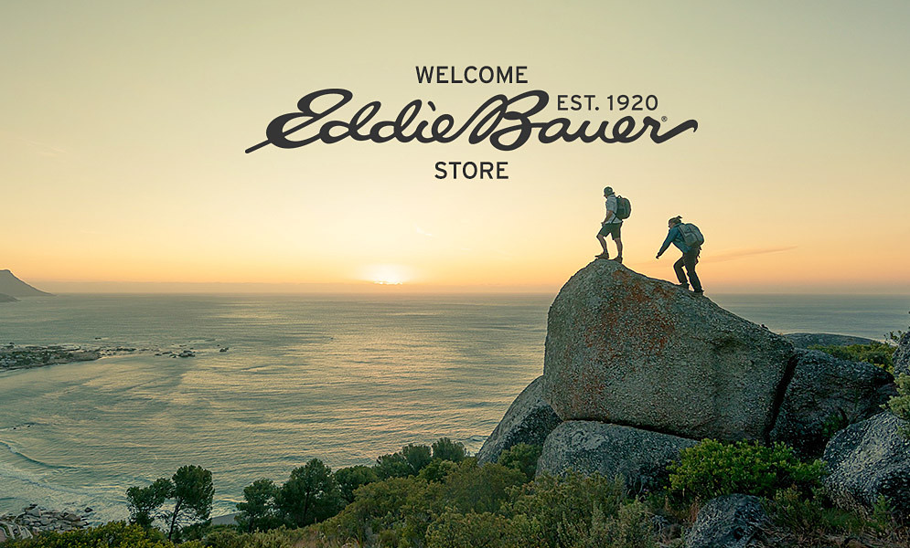 Welcome Eddie Bauer Store