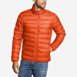 Eddie Bauer CirrusLite Men's Down Jacket (Ochre)