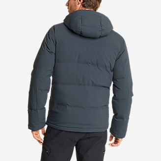 Thumbnail View 2 - Men's Glacier Peak Seamless Stretch Down Hooded Jacket