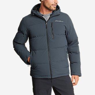Thumbnail View 3 - Men's Glacier Peak Seamless Stretch Down Hooded Jacket